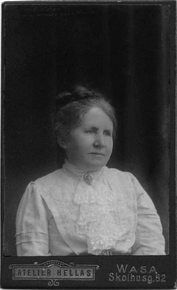 Anna Heikel född Lagus (1848-1921).