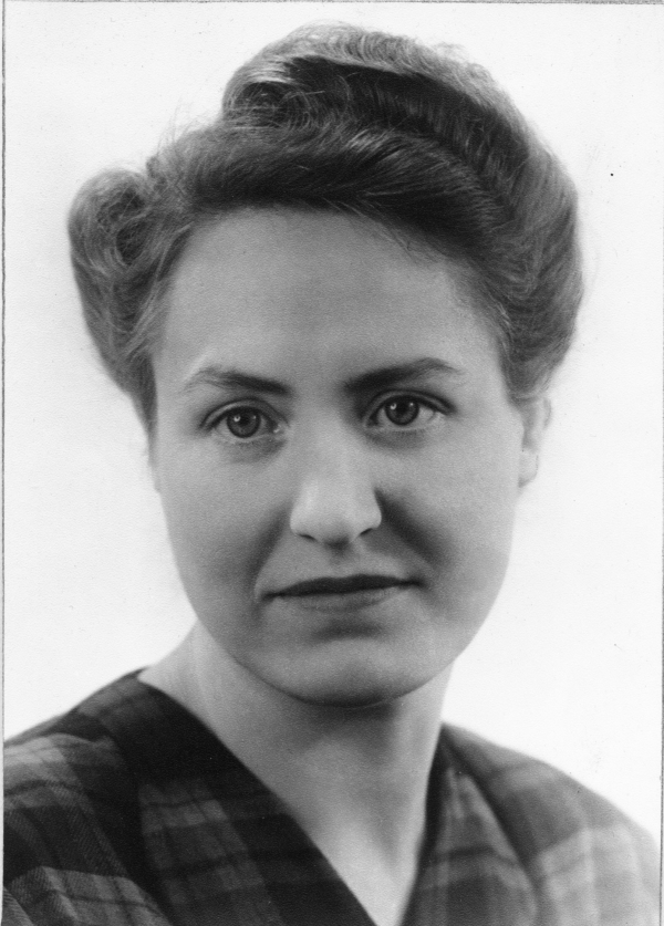Gunnel Wikander född Heikel 1911
