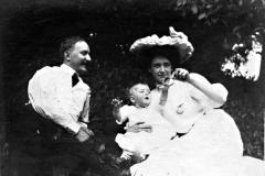 Gunnar och Victoria Heikel 1909