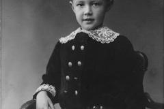 Stig Wikander född 1908 i Norrtälje, ca  3 el 4  år gammal