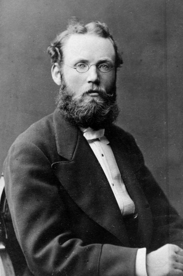 Gustaf Oskar Wikander (29/5 1847-12/4 1877). ing fr Chalmers g m Cecilia Malmström