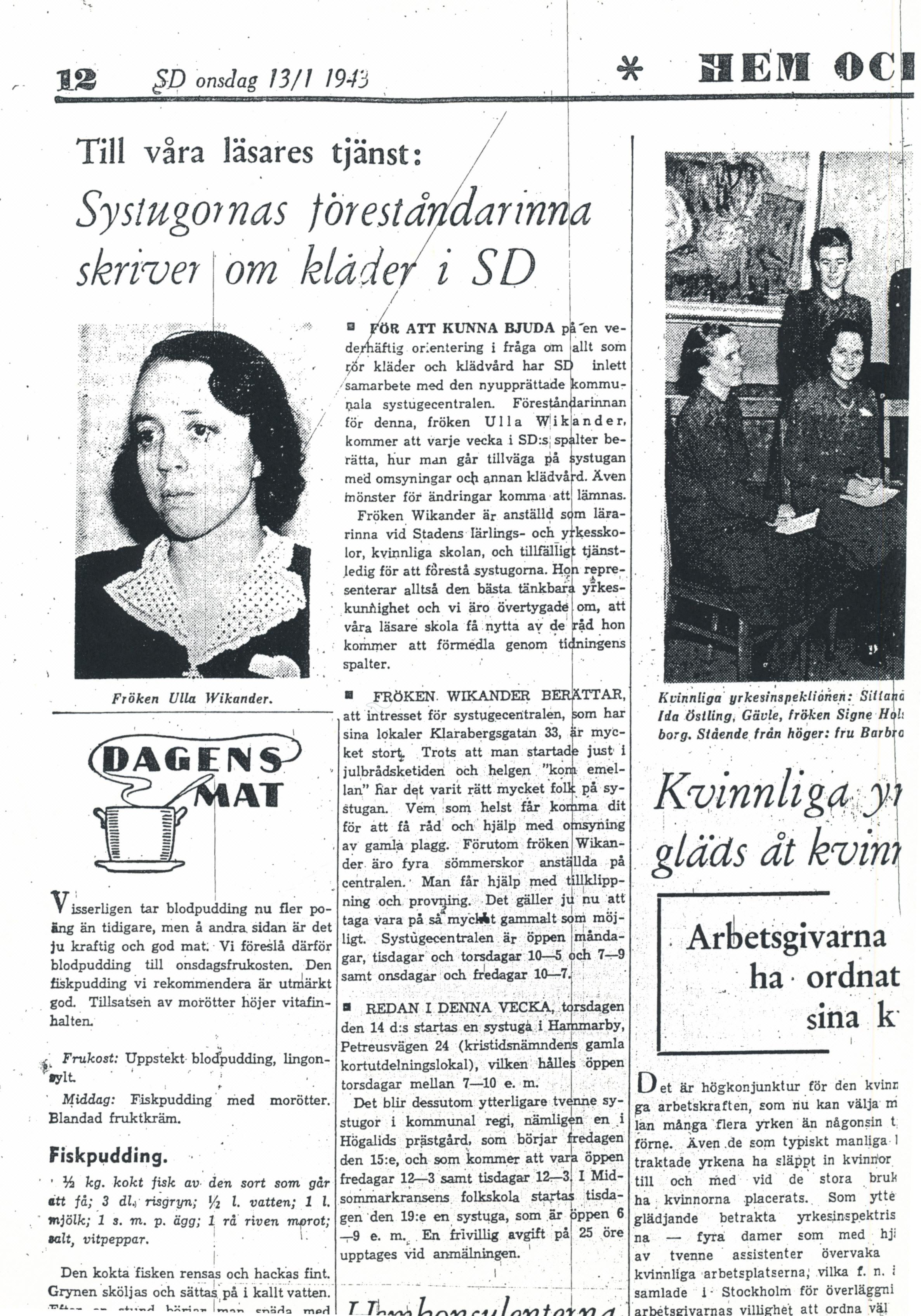 Ulla Wikander f 1912